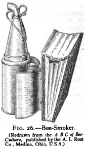Bee smoker - Wikipedia