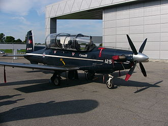 2 Canadian Forces Flying Training School - Raytheon CT156 Harvard II of 2 CFFTS, at Rockcliffe Airport, 23 August 2008