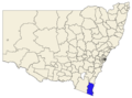 Bega Valley LGA in NSW.png
