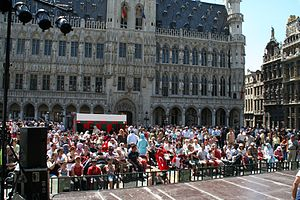 Turks in Belgium - Turkish day at the Grand Place (2006)