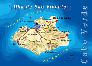 São Vicente, Cape Verde island in Cape Verde