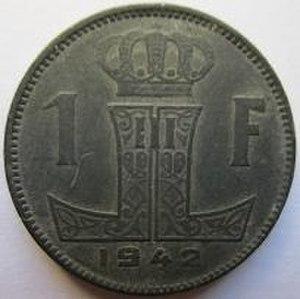 Belgian coins of World War II