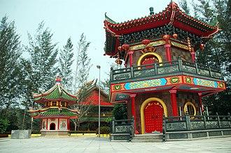 Jade Dragon Temple - Image: Bell tower (Zhong Lou)