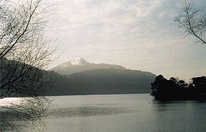 Loch - View across Loch Lomond, towards Ben Lomond