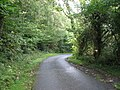 Bend in the road between Wern-y-wylan and the beach - geograph.org.uk - 950716.jpg