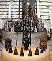Benin, edo, altare per antenati, 01.jpg