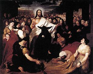 Benjamin Haydon, wjazd Chrystusa do Jerozolimy
