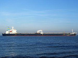 Bering Sea IMO 9085429 p5 approaching Port of Rotterdam, Holland 21-Dec-2007.jpg