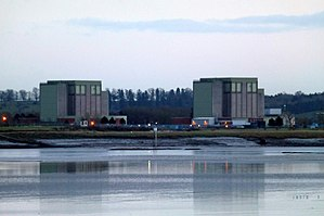 Berkeley nuclear power station - The site in 2014