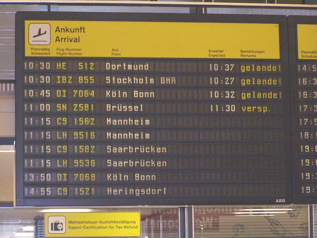 flug berlin stockholm