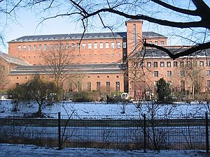 "Paul-Lincke-Ufer - ""Electricity Cathedral"", the listed former electricity substation on Paul-Lincke-Ufer, built in  1926–1928 by Hans Heinrich Müller"