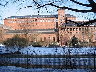 """Paul-Lincke-Ufer - """"Electricity Cathedral"""", the listed former electricity substation on Paul-Lincke-Ufer, built in  1926–1928 by Hans Heinrich Müller"""