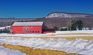 Bethel Township, Berks County, Pennsylvania - Round Top Valley Farm in Bethel Township
