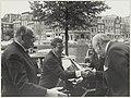 Bezoek van Z.K.H. prins Claus aan de Koninklijke Hollandsche Maatschappij der Wetenschappen waar hij werd verwelkomd door Jhr mr. C.C. van Valkenburg., NL-HlmNHA 54012015.JPG