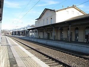 Herzogenrath station - entrance building