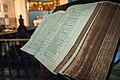 Bible of St John's Church, Kolkata.jpg