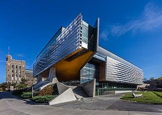 Morphosis Architects - Image: Bill & Melinda Gates Hall at Cornell University