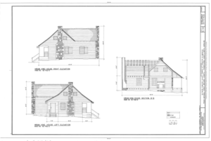 Biltmore Forestry School, Brevard, Transylvania County, NC HABS NC-402 (sheet 7 of 9).png