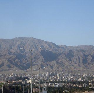 Birjand City in South Khorasan, Iran