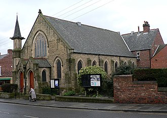 Civil parishes in Tyne and Wear - Image: Birtley Primitive Methodist Church