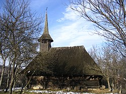 Wooden Church in Zimbor, historic monument