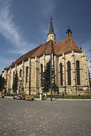 St. Michael's Church, Cluj-Napoca - Image: Biserica romano catolica sf. Mihai