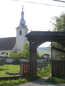 A falu katolikus temploma