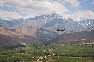 Bamyan City in Bamyan Province, Afghanistan
