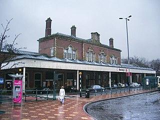 Blackburn railway station Railway station in Lancashire, England