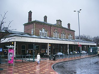Blackburn railway station - Image: Blackburn Railway Station