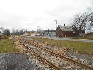 Blasdell, New York - Blasdell station in December 2014
