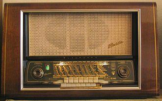 Blaupunkt - Image: Blaupunkt Radio 1954