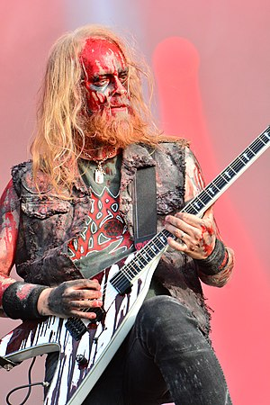 Anders Nyström - Anders Nyström playing with Bloodbath in 2015