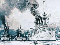 Bloqueo de Venezuela door las potencias europeas 1902.jpg