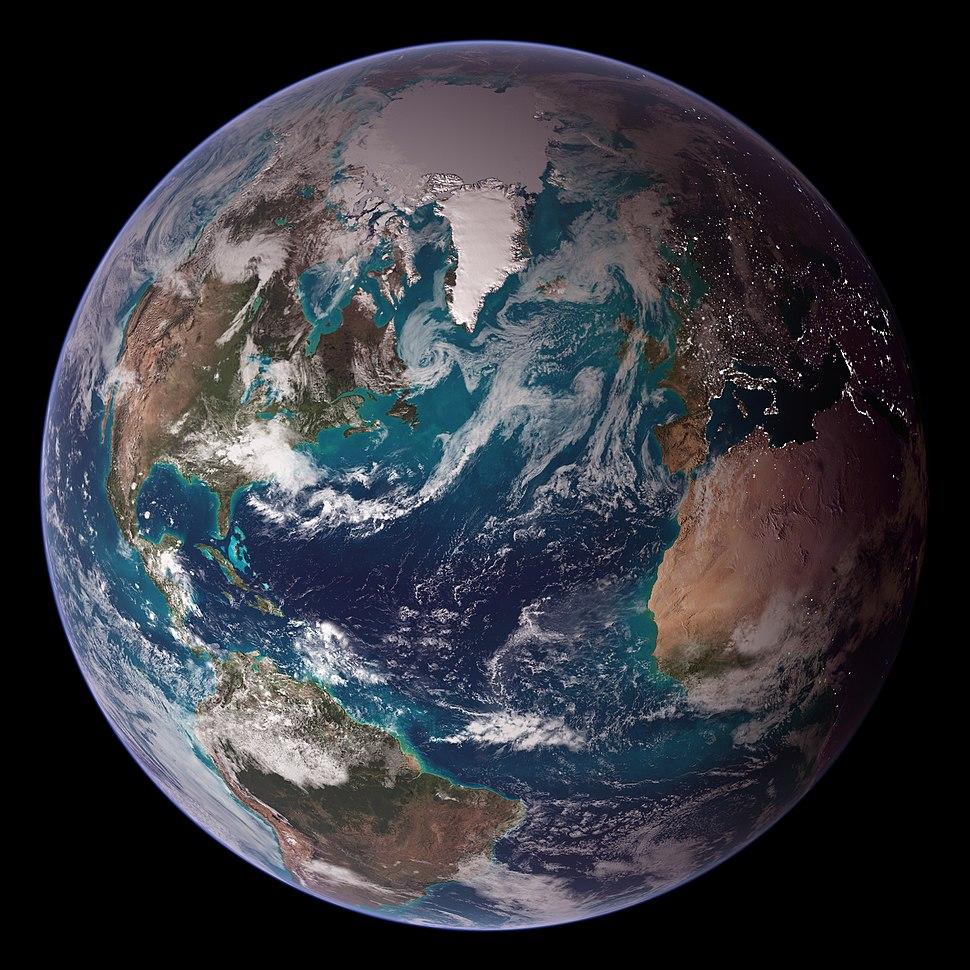 Blue Marble Western Hemisphere
