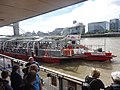 Boats at Tower Millennium Pier (London) 02.jpg