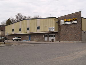 Bobby Orr - The Bobby Orr Community Centre, located in Parry Sound, Ontario
