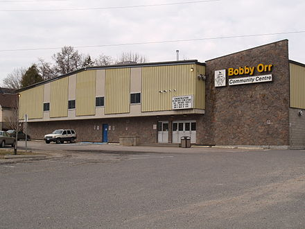 The Bobby Orr Community Centre, located in Parry Sound, Ontario Bobby Orr Community Centre.jpg