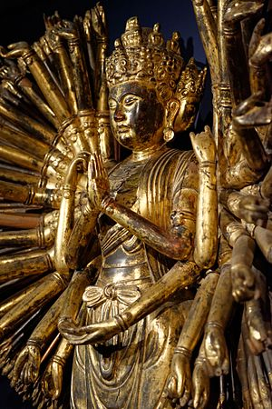 Buddhist deities - Avalokiteshvara with 1000 arms
