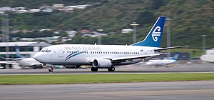 Boeing 737-300 (Air New Zealand) Wellington (21).jpg