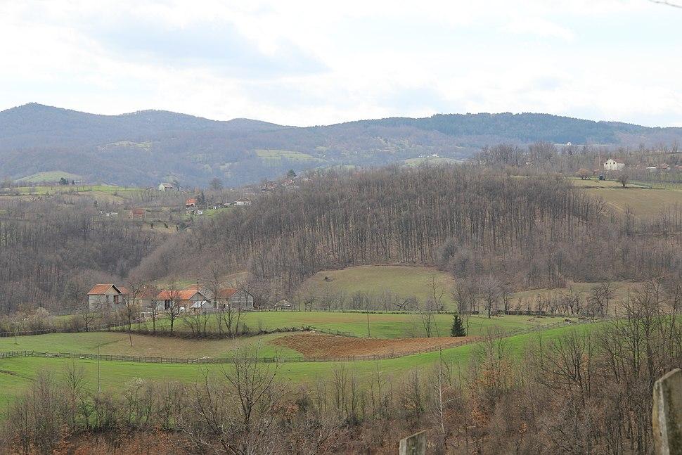 Bogatić - opština Valjevo - zapadna Srbija - panorama 9