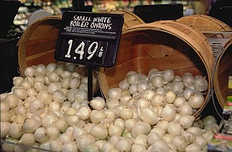 White onion - Boiler Onions
