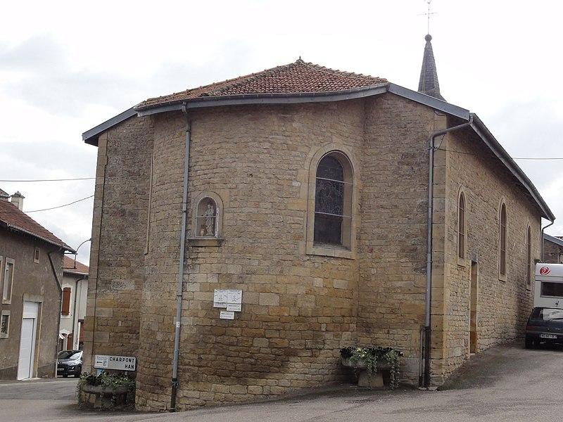 Boismont (Meurthe-et-M.) église