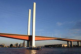 Denton Corker Marshall - Bolte Bridge, Melbourne.