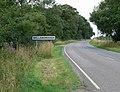 Bosworth Road enters Wellsborough - geograph.org.uk - 922425.jpg