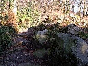 Wege und Treppen im Botanischengarten Duisburg
