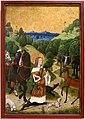 Bottega del maestro della vita della vergine, conversione di sant'uberto, 1480-85 ca. 01.jpg
