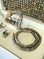 Bottle cap snake - Museum of International Folk Art - DSC09187.JPG