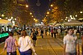 Boulevard Vitosha at night, Sofia PD 2012 12.jpg
