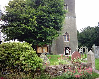 Bow, Devon - Image: Bow (Anglican) Church and churchyard geograph.org.uk 24020